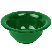 Thunder Group CR5510GR Green 10 oz. Melamine Soup Bowl with 5 3/8 inch Diameter - 12/Pack