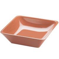 Cal-Mil 1707-10-62 Terra Cotta 10 inch Square Melamine Bowl