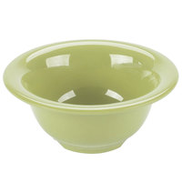 GET B-105-AV Diamond Harvest 10 oz. Avocado Melamine Bowl - 48/Case