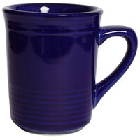Tuxton CCM-085 Concentrix 8 oz. Cobalt China Gala Mug - 24 / Case