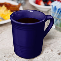 Tuxton CCM-085 Concentrix 8 oz. Cobalt China Gala Mug - 24/Case