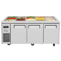 Turbo Air JBT-72 70 7/8 inch Refrigerated Buffet Display Table