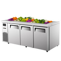 Turbo Air JBT-72 70 7/8 inch Refrigerated Buffet Display Table - 18 Cu. Ft.