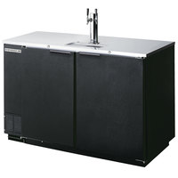 Beverage-Air DD50HC-1-B Kegerator Beer Dispenser - Black, (2) 1/2 Keg Capacity