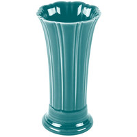 Homer Laughlin 491107 Fiesta Turquoise 9 5/8 inch Medium Vase - 4/Case