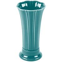 Homer Laughlin 491107 Fiesta Turquoise 9 5/8 inch Medium Vase - 4/Case