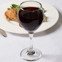 Libbey 3064 Perception 8 oz. Red Wine Glass - 24/Case