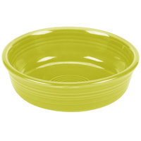 Homer Laughlin 460332 Fiesta Lemongrass 14.25 oz. Nappy Bowl - 12/Case