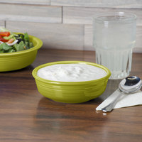 Homer Laughlin 460332 Fiesta Lemongrass 14.25 oz. Nappy Bowl - 12/Case
