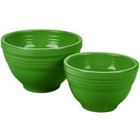 Homer Laughlin 867324 Fiesta Shamrock 2-Piece Prep Baking Bowl Set - 2/Case