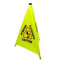 31 inch Pop-Up Safety Cone Wet Floor Sign