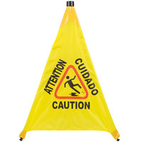 31 inch Pop-Up Safety Cone Wet Floor Sign
