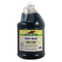 Fox's Root Beer Slush - (4) 1 Gallon Containers / Case