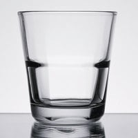 Anchor Hocking 90262 Clarisse 8 oz. Stackable Rocks / Old Fashioned Glass   - 24/Case