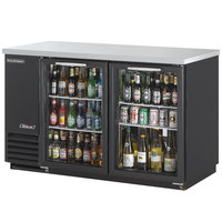 Turbo Air TBB-2SG 59 inch Two Glass Door Back Bar Refrigerator