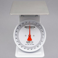 Cardinal Detecto T25 25 lb. Top Loading Fixed Dial Scale