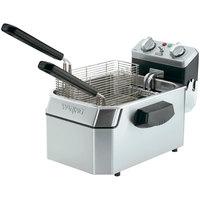 Waring WDF1550 15 lb. Commercial Countertop Deep Fryer - 240V