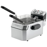 Waring WDF1550 15 lb. Commercial Countertop Deep Fryer - 240V