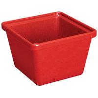GET ML-148-RSP 28 oz Square Crock 12/Case - Red Sensation
