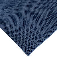 Cactus Mat 1041R-U3 Safety-Walk 3' Wide Blue Wet Area Mat - 1/4 inch Thick