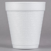 Dart 8KY8 8 oz. Greek Key Design Foam Cup - 1000/Case