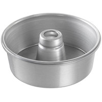 Chicago Metallic 46505 7 1/2 inch Glazed Aluminum Customizable Angel Food Cake Pan - 2 3/4 inch Deep