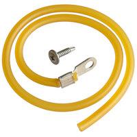True 874100 19 inch Latex Door Cord for TDBD-72, TDBD-96, TSID-72, and TSID-96 Series