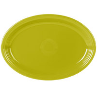 Fiesta Tableware from Steelite International HL968332 Lemongrass 19 1/4 inch x 13 1/2 inch Oval Extra Large China Serving Platter - 2/Case