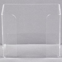Hoffmaster 710000 Clear Acrylic Guest Towel Holder