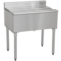 Eagle Group B30IC-18-7 1800 Series 30 inch Ice Chest with Post-Mix Cold Plate - 82 lb. Capacity
