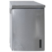 Advance Tabco WCH-15-24-300 24 inch Type 300 Stainless Steel Wall Mounted Chemical Storage Cabinet