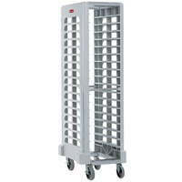 Rubbermaid FG331700OWHT ProServe 18 Pan Off White Max System End Load Steam Table Pan Rack - Unassembled