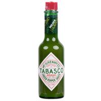 TABASCO® 5 oz. Green Pepper Hot Sauce - 12/Case