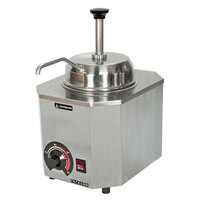 Paragon 2028B Pro-Deluxe 3 Qt. Warmer with Spout - 120V, 500W