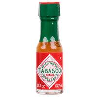 TABASCO® .125 oz. Original Hot Sauce Mini Bottles - 144/Case