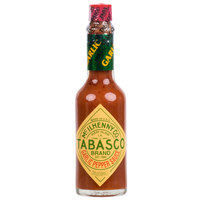 TABASCO® 2 oz. Garlic Pepper Hot Sauce - 12/Case