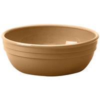 Cambro 100CW133 Camwear 12.5 oz. Beige Polycarbonate Nappie Bowl - 48/Case