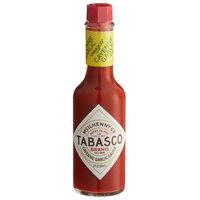 TABASCO® 5 oz. Cayenne Garlic Pepper Hot Sauce - 12/Case