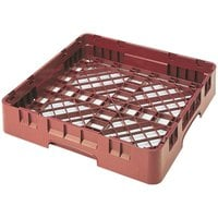 Cambro BR258416 Cranberry Camrack Full Size Open Base Rack