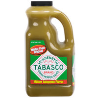 TABASCO® 64 oz. Green Pepper Hot Sauce - 2/Case