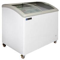 Master-Bilt Coldin-3 MSC-41A Curved Lid Display Freezer - 8.5 cu. ft.