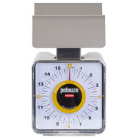 Rubbermaid FGKF16SS Pelouze 1 lb. Contoured Portion Control Scale