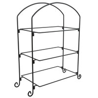 American Metalcraft IS13 Three-Tier Rectangular Tray Stand