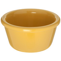 Carlisle S28522 4 oz. Honey Yellow Smooth Melamine Ramekin - 48/Case