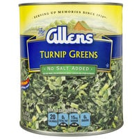 Chopped Turnip Greens - #10 Can - 6/Case