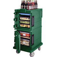 Cambro UPC600519 Green Camcart Ultra Pan Carrier - Front Load