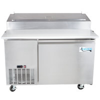 "Avantco PICL1 49"" One Door Refrigerated Pizza Prep Table"