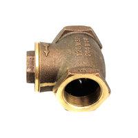 Cleveland 22132 Vlv;Brass;Swing Check 1-1/4 In
