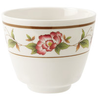 GET M-077C-TR Tea Rose 5.5 oz. Melamine Tea Cup - 24 / Case