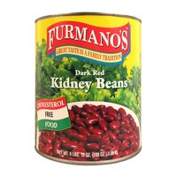 Furmano's Kidney Beans (Dark Red - in Brine) #10 Can